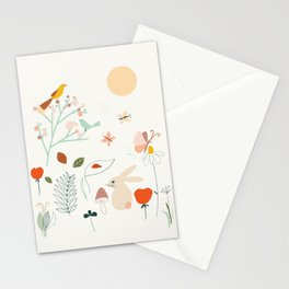 Meadow Blossom Stationery Cards