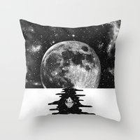 journey Throw Pillows featuring Endless Journey by Zach Terrell