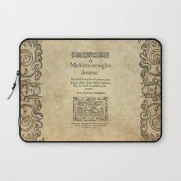 Shakespeare. A midsummer night's dream, 1600 Laptop Sleeve