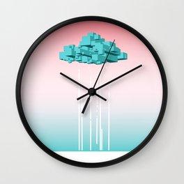Concrete Cloud Wall Clock