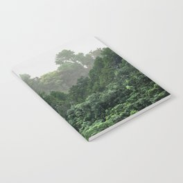 Tropical Foggy Forest Notebook