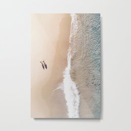 Malibu California Beach I Metal Print