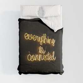 Everything is Connected Comforters