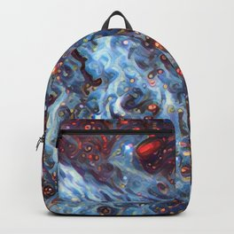 Painted Large Magellanic Cloud Backpack