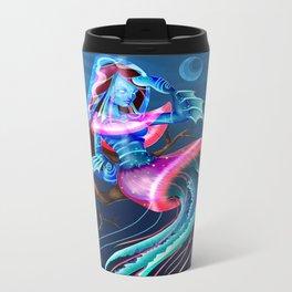 Mrs. Jellyfish Metal Travel Mug