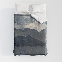 Blue Ridges Duvet Cover
