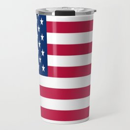 Flag of USA - American flag, flag of america, america, the stars and stripes,us, united states Travel Mug