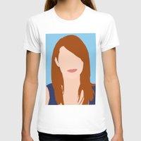emma stone T-shirts featuring Emma Stone Digital Portrait by RoarsAdams