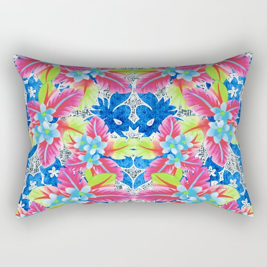 Kissing in Kona Rectangular Pillow