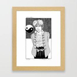 Calliope Framed Art Print