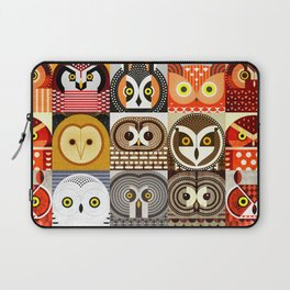 North American Owls Laptop Sleeve