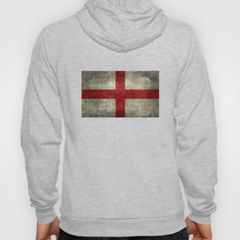 Flag of England (St. George's Cross) Vintage retro style Hoody