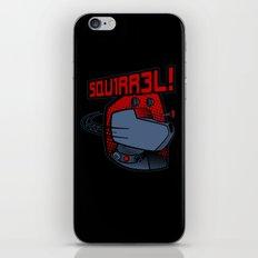 SQUIRREL! iPhone & iPod Skin