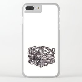 Octopus Invisble Box Clear iPhone Case