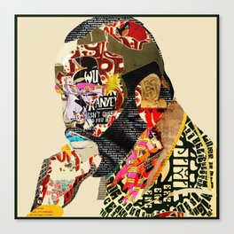 B.A Canvas Print