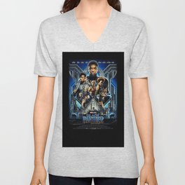 Black Panther movie Poster Unisex V-Neck