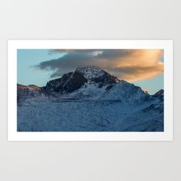 Rocky Mountains 5 Art Print