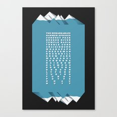 NZ Ski Fields Canvas Print
