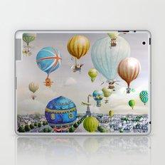 Ballooning over everywhere: Paris Laptop & iPad Skin