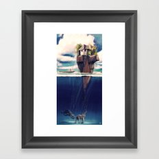 Dream Island Framed Art Print