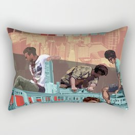 Chicago Red Line Rectangular Pillow