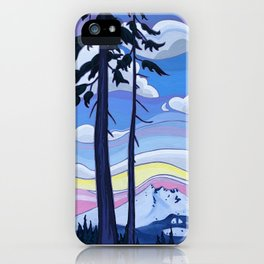 Enjoying the View Together iPhone Case