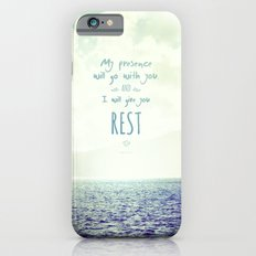 My presence will go with you and I will give you rest iPhone 6s Slim Case