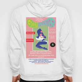 Junxploitation Poster (Groovy Babysitter) Hoody