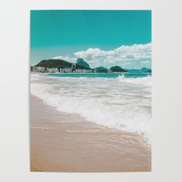 Sugar Loaf from Copacabana Poster