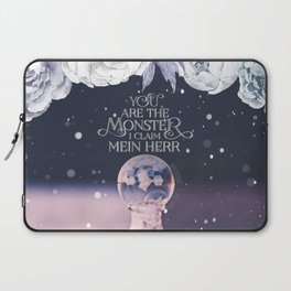 Wintersong - You are the monster I claim Laptop Sleeve