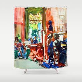 Frances Hodgkins Piano Lesson Shower Curtain