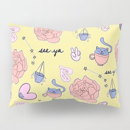Cute Pastel Pattern Pillow Sham