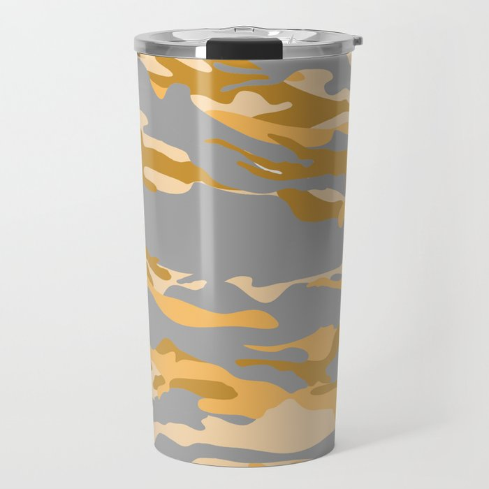 Midnight in a Oasis?. Travel Mug