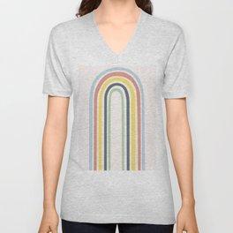 Neverending Rainbow Unisex V-Neck