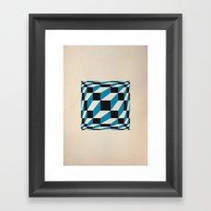 fuzzy gestalt 02 Framed Art Print