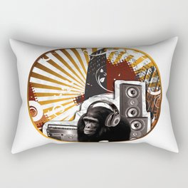 City Life Rectangular Pillow