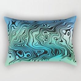 Liquid #9 Rectangular Pillow