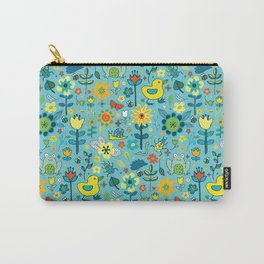 Ducks and frogs in the garden Carry-All Pouch