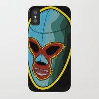majoras mask iPhone & iPod Cases featuring mask by mark ashkenazi