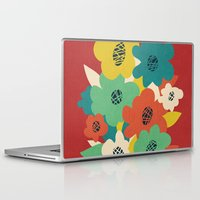matisse Laptop & iPad Skins featuring Paper Flowers by Picomodi