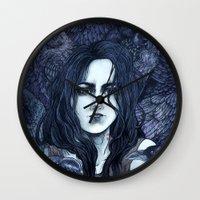 marceline Wall Clocks featuring Marceline by Angela Rizza