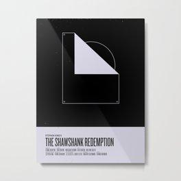 Shawshank Redemption Metal Print