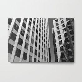 Bostonian Architecture Metal Print