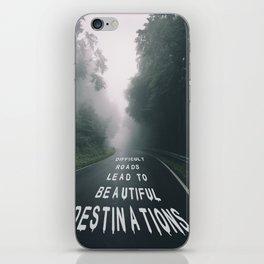 The Road iPhone Skin