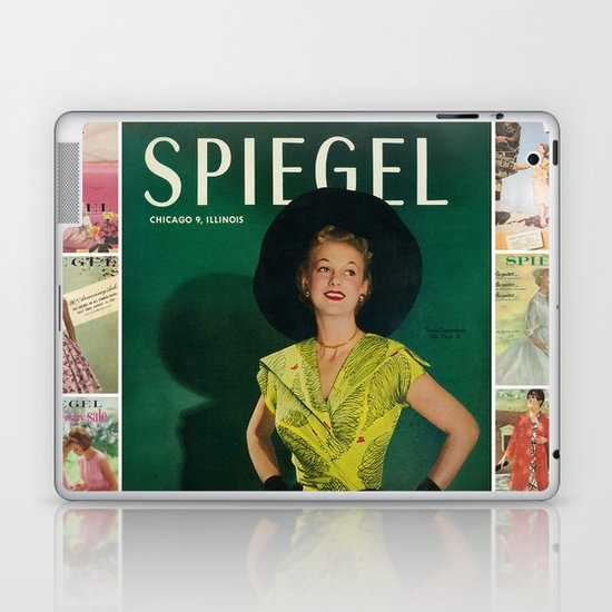 1951 Spring/Summer Catalog Cover Laptop & iPad Skin
