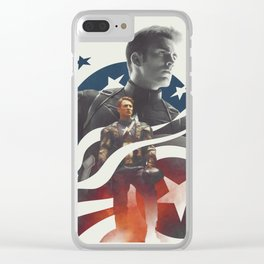 Not a perfect soldier, but a good man Clear iPhone Case