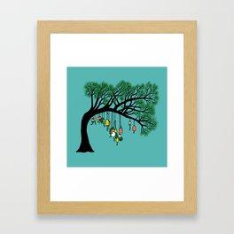 Buoy Tree by Seasons K Designs for Salty Raven Framed Art Print
