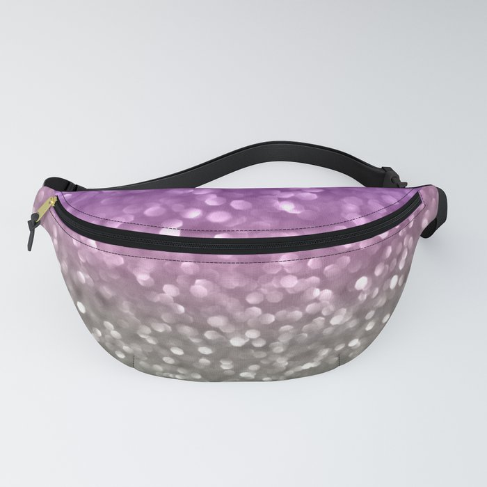 Lilac and Gray Fanny Pack