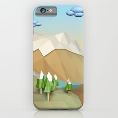 Landscape Low Poly B2 iPhone 6s Slim Case