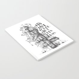 a humble residence Notebook